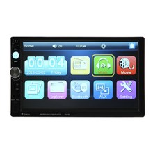 7Inch 2DIN Touch Screen Car Video MP5 Player 1080P Full HD Autoradio Radio Audio Player Support Bluetooth/FM/USB With Camera