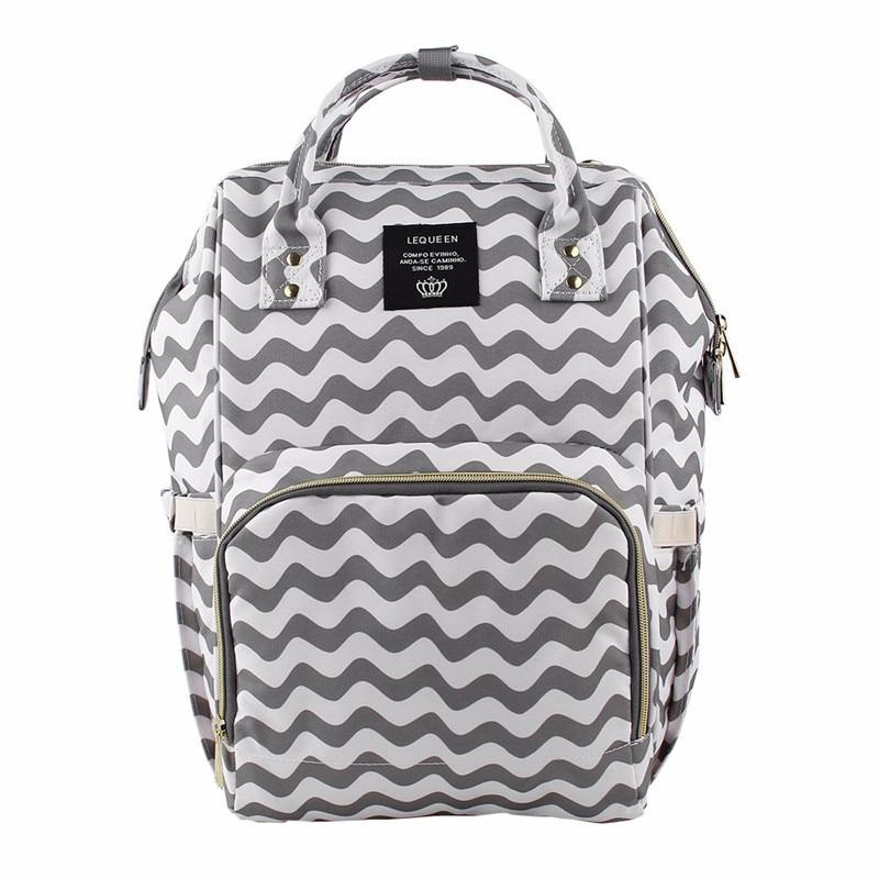 HTB1aROibznuK1RkSmFPq6AuzFXao Maternity Bag Waterproof Diaper Backpack for Mom Nappy Bags Large Capacity Baby Bag Travel Mummy bag Designer Nursing Bag