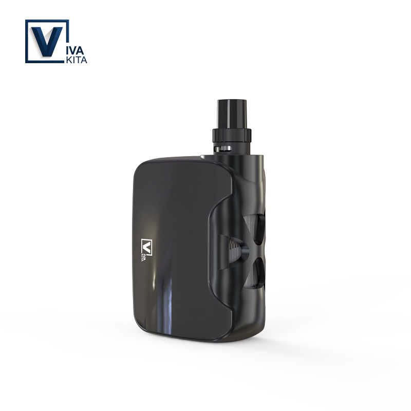 Vape kit VivaKita 50W All-in-one Fusion Vaporizer Electronic Cigarette 1500mah vape mod 0.25ohm built in evaporator dropshipping vivakita original child lock design cigarette electronique fusion 50w vw mod electronic cigarette in kuwait