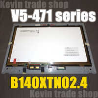 """Free shipping 14"""" inch led Digitizer Assembly Display matrix for Acer V5 471P V5-471P V5-431P v7-482pg Laptop LCD touch screen"""