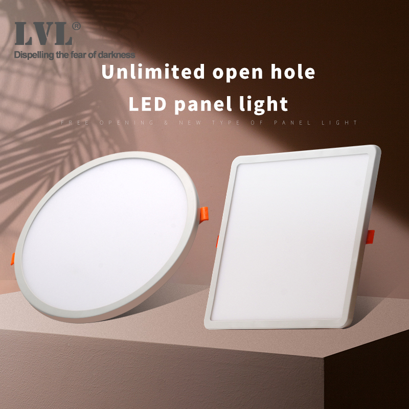 LED Panel Light Ultra Thin Recessed Downlights 6W 8W 15W 20W 220V 230V Round Square Ceiling Panel Lamp