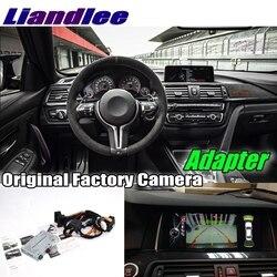 Liandlee samochodów cofania tylna kamera cofania adapter interfejsu dekoder zestawy dla BMW X2 F39 2018 2019 NBT EVO System aktualizacji w Kamery pojazdowe od Samochody i motocykle na