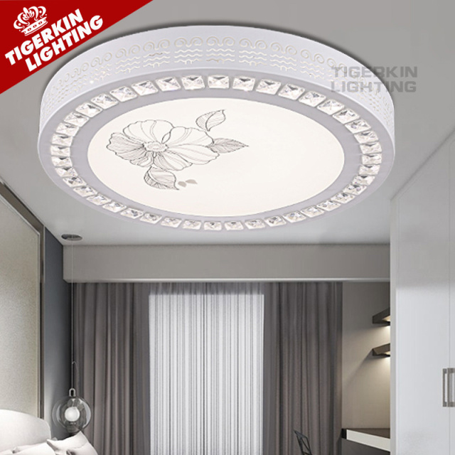 modern ceiling lights bedroom kitchen acrylic decorative lampshade led flush mount light fixtures lamp shades for