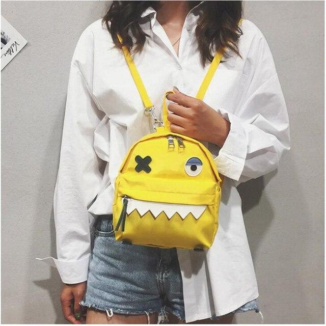 Рюкзак с монстром корейский Стиль