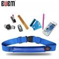 BUBM  green orange blue waist packs bag waterproof soft big capacity phone bag card bag