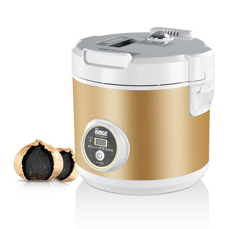 US $215.46 19% di SCONTO|SUNCA nero aglio macchina fermento zymolysis  zymosis aglio elettrodomestici per la cucina robot da cucina strumenti in  SUNCA ...