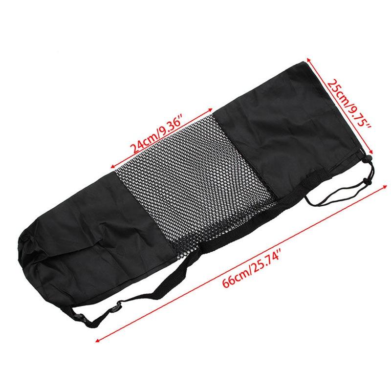 66*25 см регулируемый ремень нейлон Коврики сумка Перевозчик сетки для Йога тренажерный зал Фитнес Упражнение Спорт
