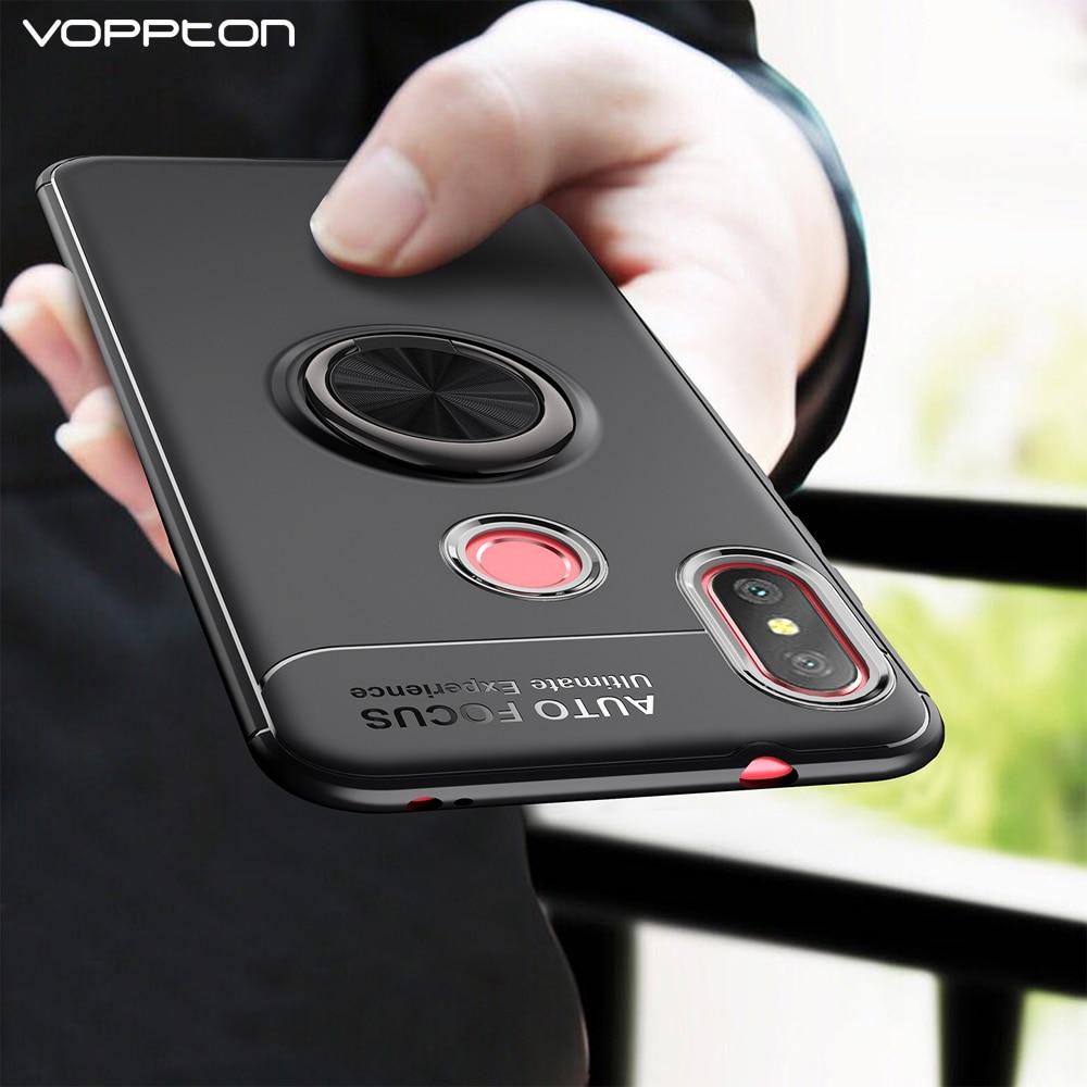 a1d786c30b2 Anel magnético A2 Lite Caso Luxo Silicone Suporte Case Para xiaomi mi 360  Capa Protetora para