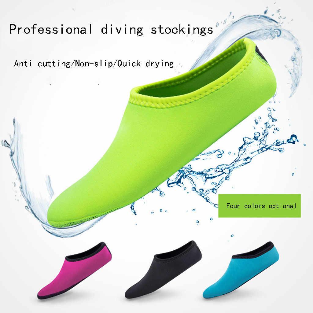 Zapatos de agua KANCOOLD para Hombre Zapatos de baño diseño de Color sólido Zapatos de playa de verano Aqua para Hombre zapatillas de deporte de mar