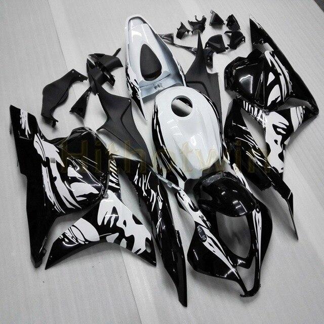 Carénage en plastique ABS pour CBR600RR 2009 2010 2011 2012 Kits de carénage complet + 5 cadeaux + couvercle de réservoir + moule dinjection orange