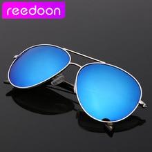 2015 ReeDoon Brand Polarizing Sunglasses Summer Style Alloy Frame Women's Sun Glasses 6 colors oculos de sol feminino 3025