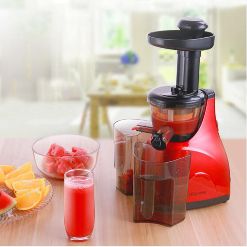 Stainless Steel Automatic Slow Juicer Electric Fruit Juice Machine Cold Press Extractor Squeezer Home use Tanko-1 stainless steel manual sugarcane juice machine sugar cane machine cane juice squeezer cane crusher