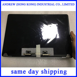 Laptop Silver Space Grey 13'' A1706 A1708 LCD Screen Display Assembly for Macbook Retina 13