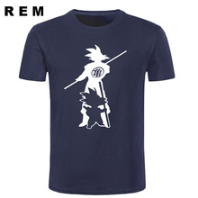 Japan anime Dragon Ball Z T Shirt Super Saiyan fluorescent men Son Goku Tees Tops Men Clothes Plus size T-shirt