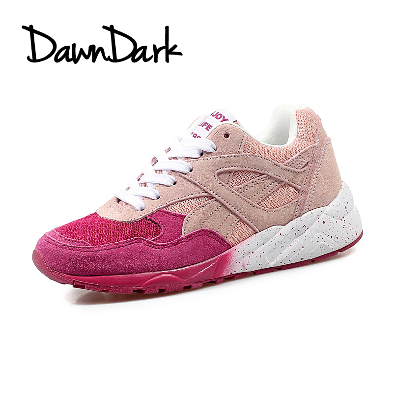 Sport Running Shoes for Women Outdoor Gray Wine Female Walking Trainers Lace Up Women Gym Athletic Tracking Trail Shoes