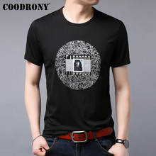 COODRONY T Shirt Men 2019 Summer New Arrival Casual Streetwear Fashion Pattern Tshirt Short Sleeve Cotton Tee Homme S95086