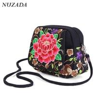 New 2016 Handbag Woman Handbag Bag New Fashion Bag High Quality Canvas Embroidery Handbag Free Shipping