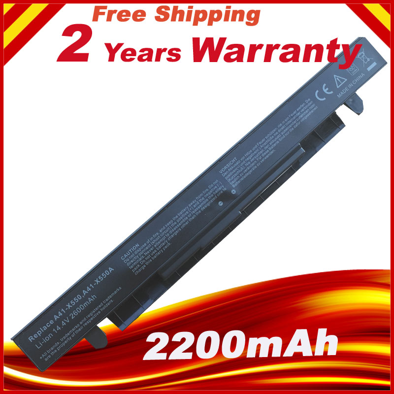 Laptop Battery For Asus X550C X550A X550CA A41 X550 A41 X550A X550