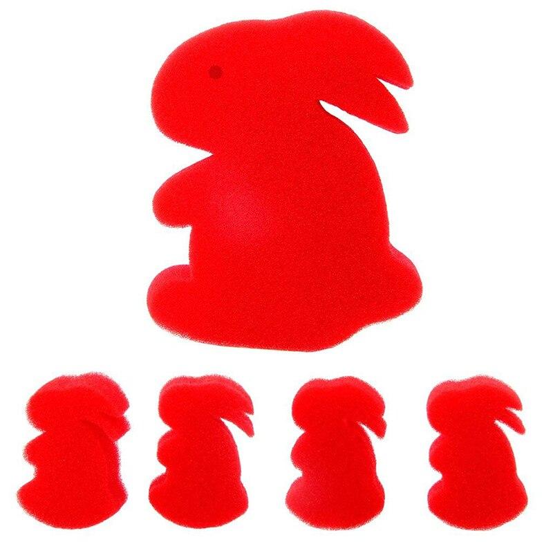 US $0 98 30% OFF|2018 New Hot Sale Sponge Rabbits Magic Tricks High Quality  Kids Magic Sponge Set for Magician Close Up Street Magic Toys-in Magic