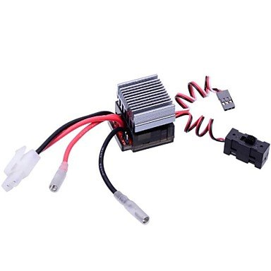 High Voltage 320A BRUSHED ESC Brush Speed Controller with Reverse Brake RC HSP 1/10 Car Fit Himoto Redcat Racing