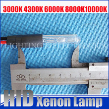 Xenon Bulb replacement For auto/motorcycle HID projector lens xenon lamp 35W 3000k 4300k 6000k 8000k 10000k 12000k
