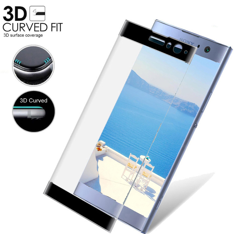 3D Full Cover Tempered For Sony Xperia Xa2 Glass For Sony Xperia XA1 Plus Ultra XZ  X 2 Premium XA 2 Ultra Glass Protective Film
