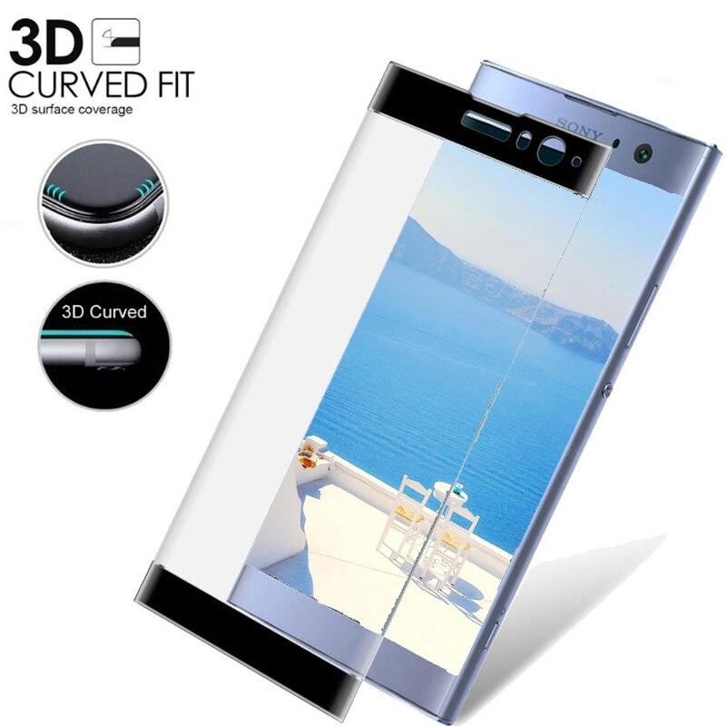 3D Pieno Della Copertura di vetro Temperato Per Sony Xperia xa2 Per Sony Xperia XA1 Plus Ultra XZ X 2 Premium XA 2 Ultra Pellicola Protettiva di vetro