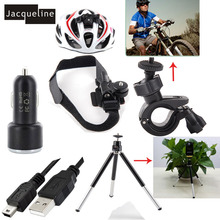JACQUELINE for Car Charger Accessories Kit Mount for Sony/Ion Air Pro Action Cam HDR AS50 AS200V AS300 AS30V AS100V AZ1 mini
