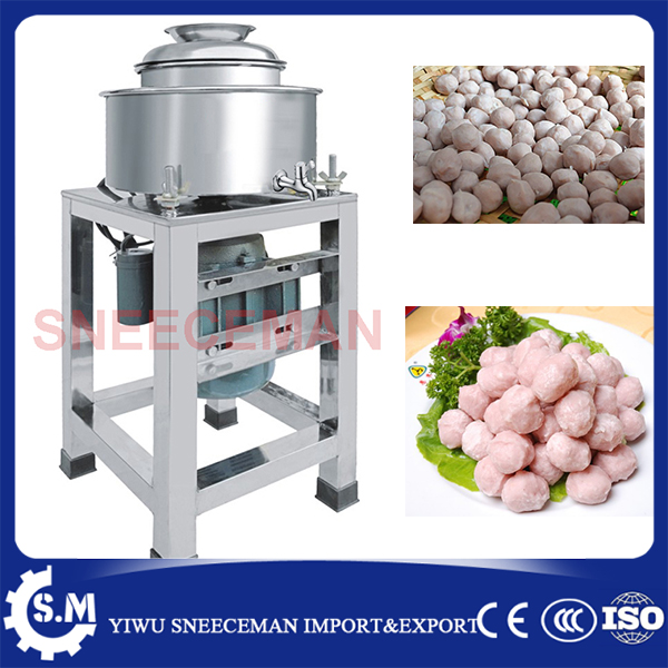 Meat pulp machine Meat grinder meat ball making machineMeat pulp machine Meat grinder meat ball making machine