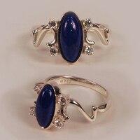 E Дневной кольцо с цирконом
