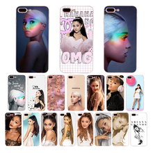 Ariana Grande AG Rainbow Sweetener Soft silicone phone case for iphone x xr xs max cover 7 6s 6 8 plus 5s 5 se TPU girl shell