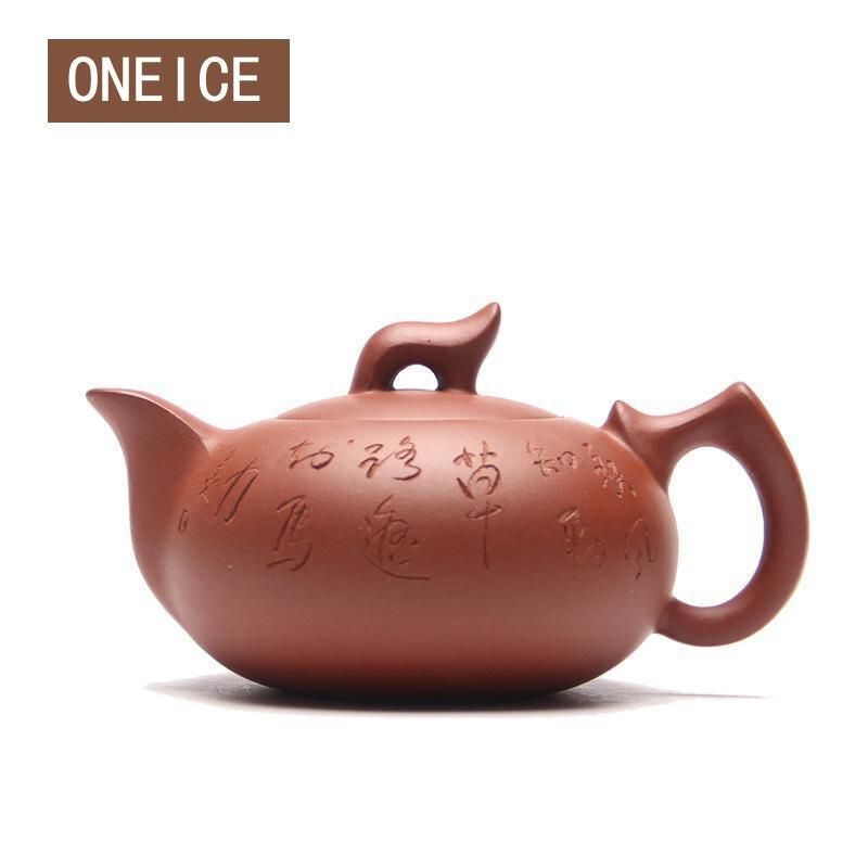 Fabriqué à la main Chinoise Yixing Teaware Théières pourpre argile Nuages l'eau Courante pot théière Thé ensemble théières Auteur: zhou ting Salut Qualité