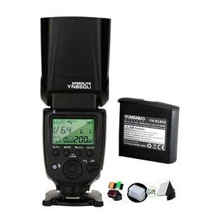 Image 1 - Yongnuo YN860Li 1800mAh Lithium Battery Speedlite GN60 2.4G Wireless Camera Master Slave Flash for Canon Nikon Pentax Olympus