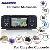 Liandlee Android автомобильный для Chrysler Concorde 2004 ~ 1998 радио CD DVD плеер gps навигации Navi карты камера OBD ТВ экран Media