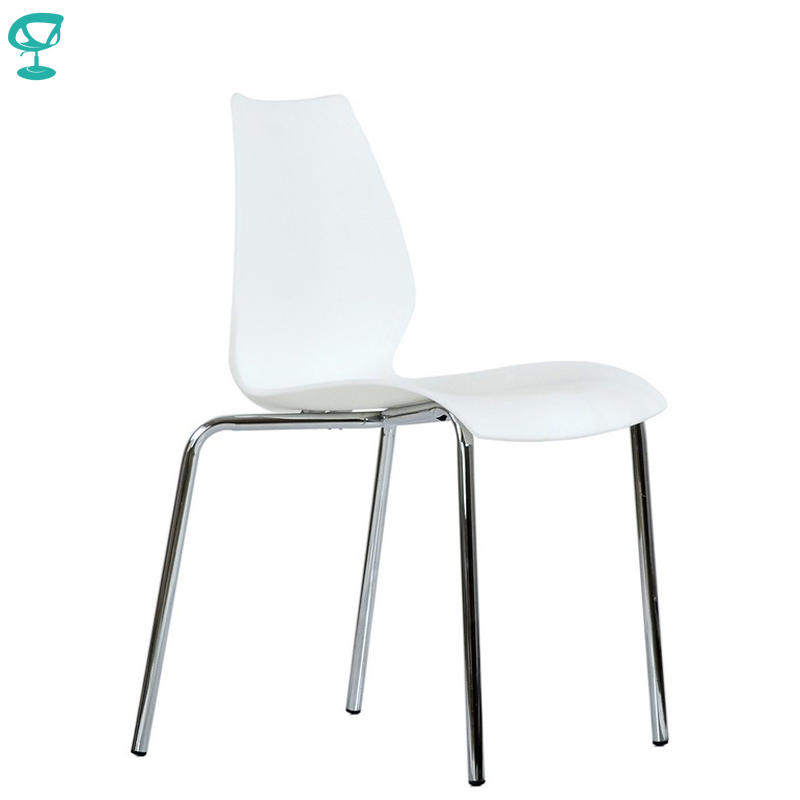 95463 Barneo N-234 Plastic Kitchen Interior Stool Chair For A Street Cafe Chair Kitchen Furniture White Free Shipping In Russia