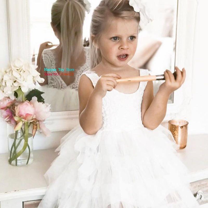 New Girls Cute Fluffy 2 6 Years Chiffon Pettiskirt Solid Colors Tutu Skirts Girl Dance Skirt Christmas Tulle Petticoat