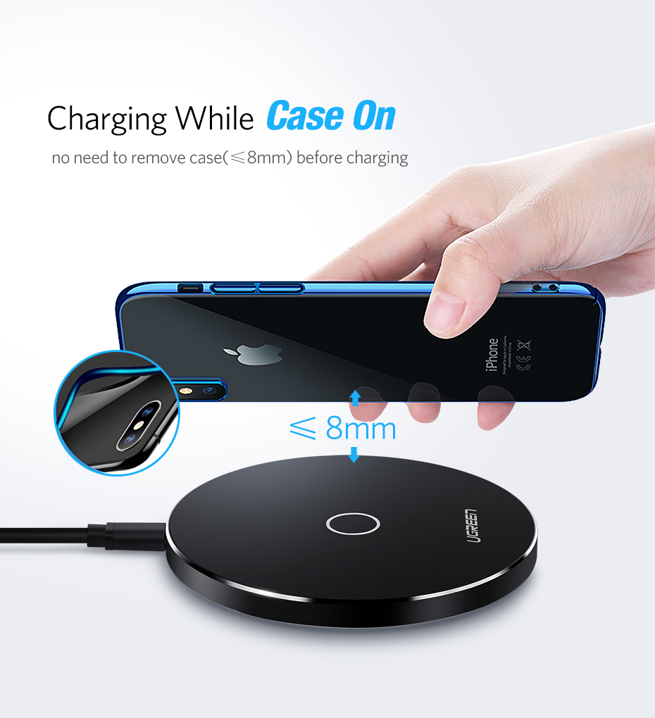 Smart Wireless Charger Pad 10