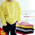 Baby Children Clothing Boys Girls Candy Color Knitted Cardigan Sweater Kids Spring/summer/autumn/winter Cotton Outer Wear