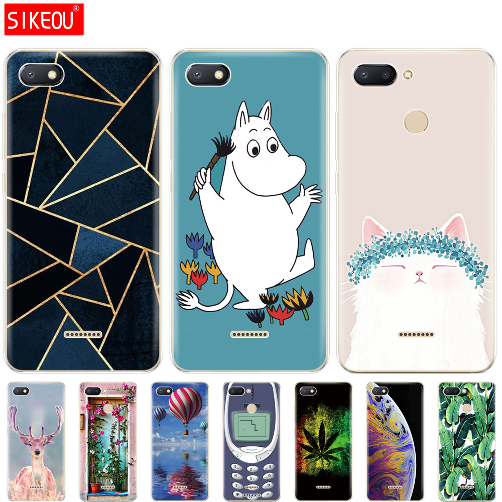 Silicon <font><b>case</b></font> for <font><b>xiaomi</b></font> <font><b>redmi</b></font> <font><b>6</b></font> <font><b>6a</b></font> <font><b>case</b></font> 5.45' phone back <font><b>cover</b></font> for xiao mi <font><b>xiomi</b></font> redmi6 <font><b>redmi</b></font> <font><b>6</b></font> a fundas coque etui cute cat image