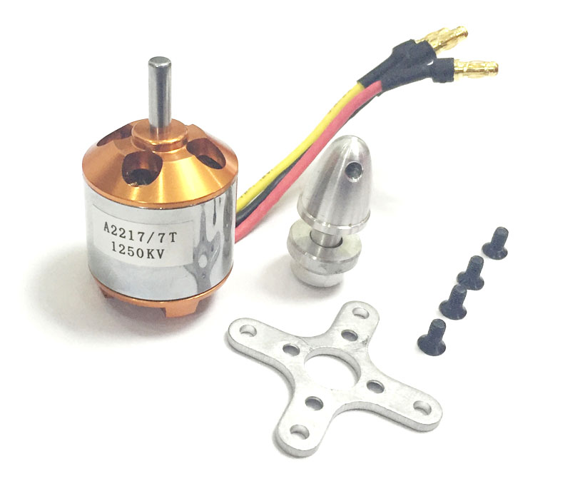 1pc XXD A2217 <font><b>2217</b></font> 950KV 1250KV Brushless Outrunner <font><b>Motor</b></font> For RC Aircraft KK 4Axis QuadCopter UFO Multirotor image