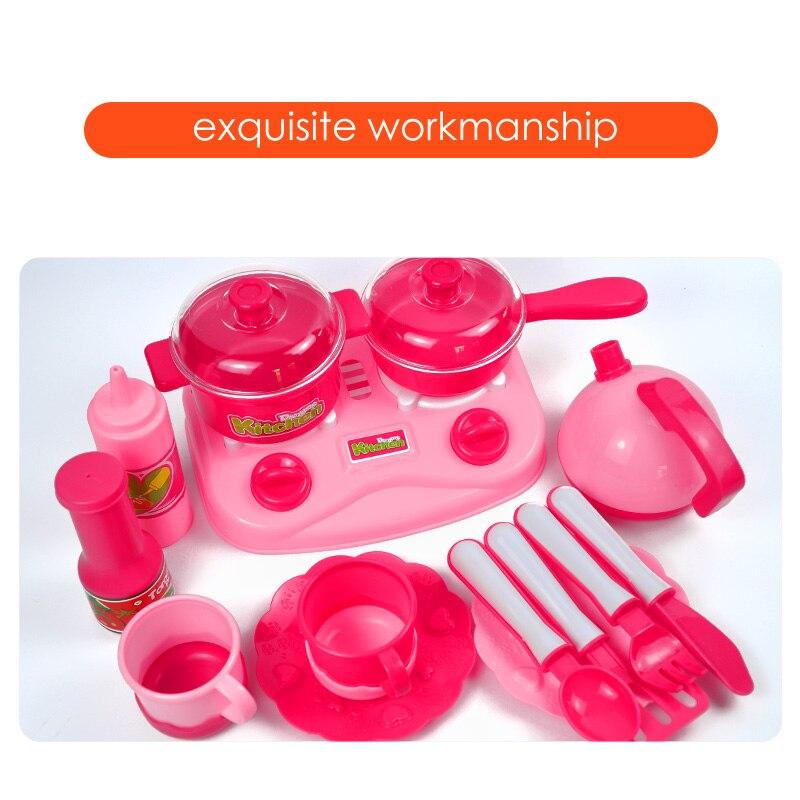 34 juegos de cocinas para niños jugar juguetes de casa frutas y - Juguetes clásicos - foto 5