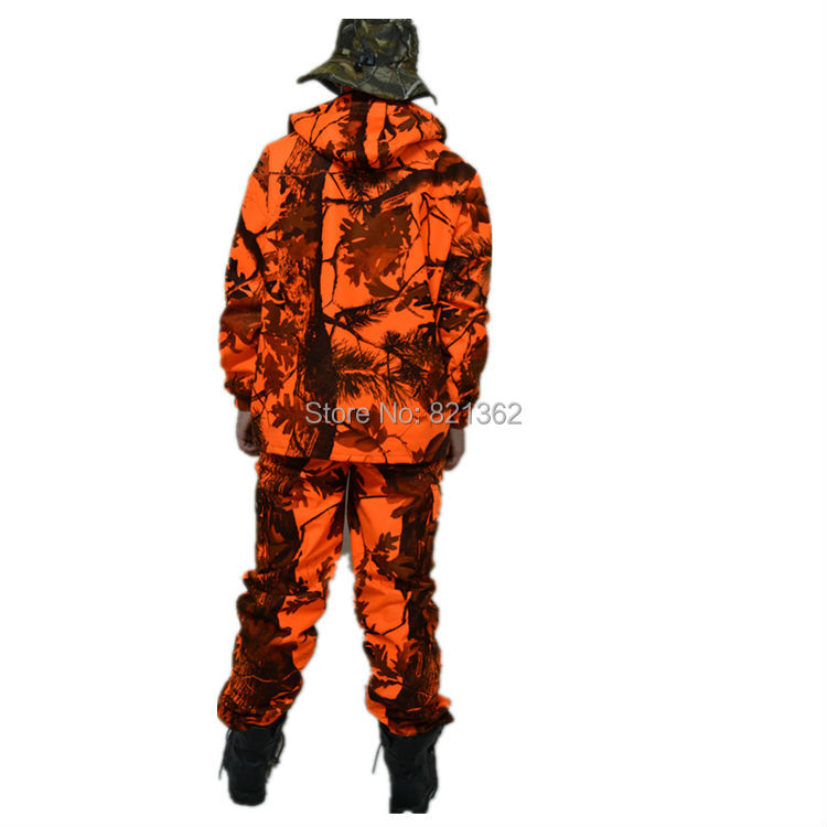 2fa8bdbf07894 Waterproof Orange Camouflage Hunting Clothing Suit Orange Camo Hunting  Jackets-in Medical from Novelty & Special Use on Aliexpress.com | Alibaba  Group
