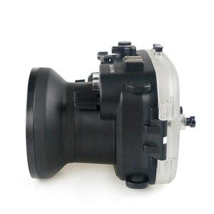 Image 5 - 130FT/40M עבור Canon PowerShot G1 X Mark II מתחת למים עומק צלילה מקרה עבור Canon G1X השני עמיד למים מצלמה דיור כיסוי תיבה