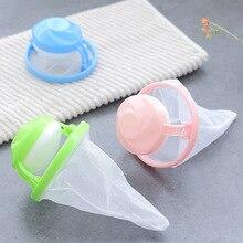 Machine à laver réutilisable sac de bâton dépilation daspiration de cheveux vêtements de nettoyage Protection de filtre de boule de lavage sacs dépilation machine a laver