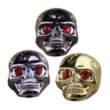 Buttons Knobs Electric-Guitar-Bass Volume-Tone BATESMUSIC Pot Skull