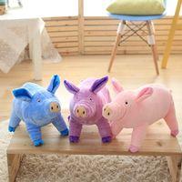 38/65 cm Kids Favor Đáng Yêu Mềm Lợn Sang Trọng Đồ Chơi Cho Trẻ Em Thú Nhồi Bông Lợn Con Búp Bê Bé Con Sinh Nhật quà tặng