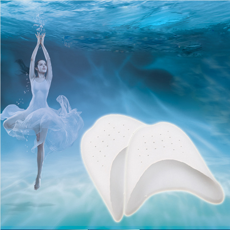 1Pair Foot Care Gel Pointe Toe Cap Cover Soft Pads Protectors for Pointe Ballet Shoes Gel Pedicure Silicone Gel Foot Toe Pads