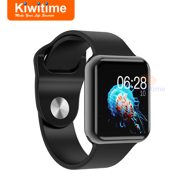 60167bd1a08d KIWITIME IWO 7 Smart Watch Bluetooth Connect IWO Smartwatch for iOS iPhone  5 6 8 9 Samsung Xiaomi Huawei 2 Sony 3 Android Phones