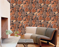 beibehang papel de parede 3d stereo simulation pebble stone print living room TV movie and background papier peint hudas beauty