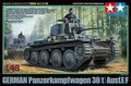 Tamiya 32583 1/48 Scale Model Kit German Panzer Panzerkampfwagen 38(t) Ausf.E/F